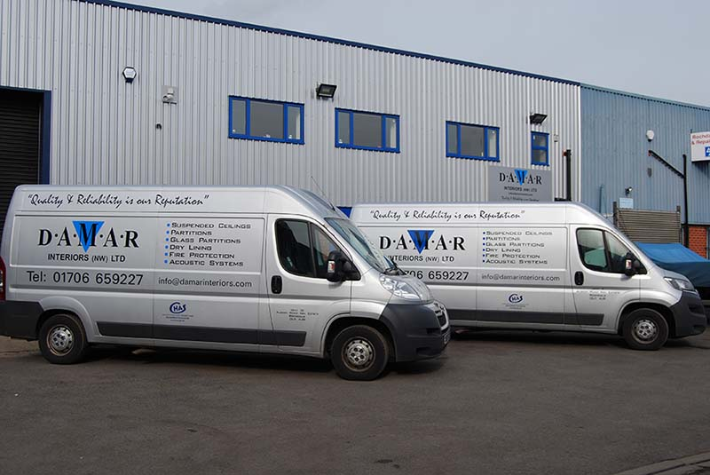 Damar Interiors (NW) Ltd Vans